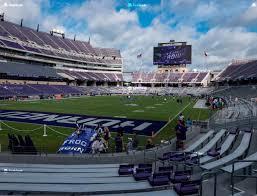Amon G Carter Stadium Section 130 Seat Views Seatgeek