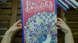 The Big Beautiful Colouring Book Flip Through Youtube
