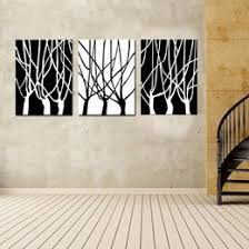 black and white of tree wall art decor contemporary large modern hanging sculpture abstract set of 3 panels on wooden tree wall art uk with shop large black white canvas wall art uk large black white canvas