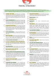 Baby Check List Travel Checklist Mummypages Mummypages Ie