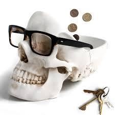 <b>Органайзер для мелочей Skull</b> белый, Suck UK | Купить в Москве