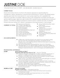 Resume Templates: Senior Solutions Architect