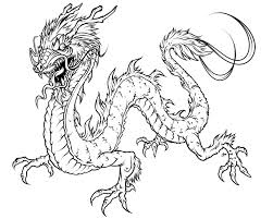 Easy Chinese Dragon Coloring Pages 1492 Chinese Dragon Coloring