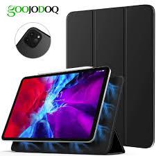 Bao bảo vệ máy tính bảng GOOJODOQ từ tính mạnh giữ bút cảm ứng cho Apple  iPad Pro 11 2020 Pro 2020 2 A2228 A2231