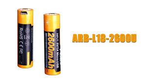 Купить <b>аккумулятор Fenix ARB-L18-2600U</b> (2600 mAh)
