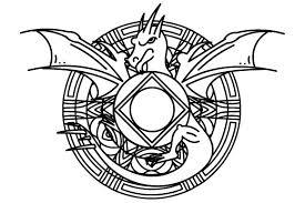 Mandala Dragon Svg Cut File By Creative Fabrica Crafts Creative