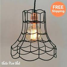 beautiful chandelier lamp shade frames industrial lampshade light lamp shade frame fitting cage bulb wire vintage singular chandelier lamp shade frames