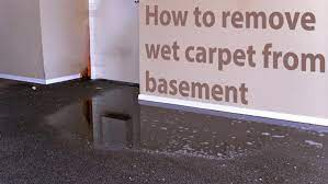 basement flood what do do