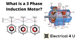 3 phase induction motor definition and
