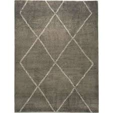 diamond maze grey 5 ft 3 in x 7 ft area rug