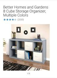 better homes 8 cube organizer better homes and gardens 8 cube organizer new