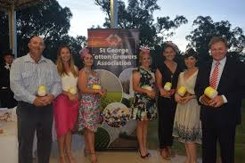 FLEECE AWARDS: Cotton committee members Ed Redfern, Allyse Morris, Bec ...  | Buy Photos Online | Whitsunday Times