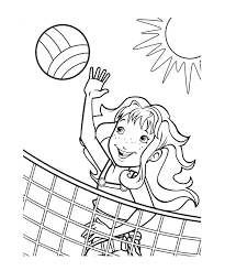 See also coloring pages picture below: Free Printable Volleyball Coloring Pages For Kids