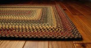off white braided rug red and blue rugs mustard black wool farmhouse home design