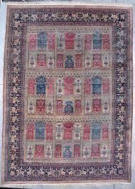 7754 laver kerman antique persian rug 11 6 x 15 10