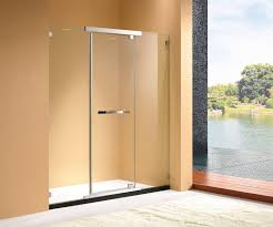 china easy cleaning nano tempered glass frameless pivot shower door china shower cabin shower enclosure