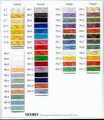 Mettler Color Chart Yenmet Color Chart Hfk Agency Inc