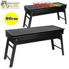 60cm premium stainless steel portable um japanese style stove bbq grill stand charcoal grill