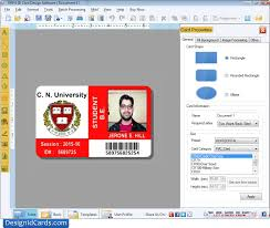 Make An Id Card Design Id Cards Software How To Make Student Id Cards Using