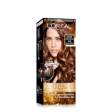 Loreal Hair Dye Chart Loreal Paris Excellence Fashion Highlights Hair Color Caramel Brown 29ml 16g