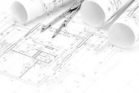 architectural drawings. Fine Architectural Architectural Drawings With Floor Plan Blueprint Rolls And Draw U2014 Stock  Photo Intended Drawings