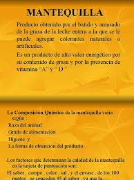 11 Mantequilla