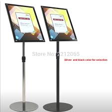 A3 Display Stands Gorgeous A32 Adjustable Pedestal Sign Holder Floor Display Poster Stands With
