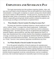 Severance General Release Agreement Template