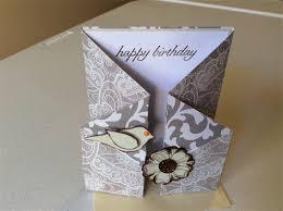 Folded Birthday Card Female Birthday Cards Gate Fold Birthday Cards Created By