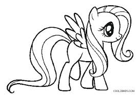Little Pony Coloring Page Trustbanksurinamecom