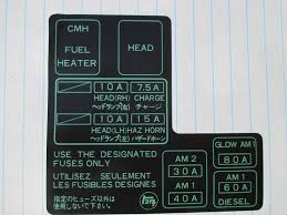 1984 1985 1986 1987 1988 toyota pickup new fuse box label ebay 1985 toyota pickup fuse box location at 1985 Toyota Pickup Fuse Box Location