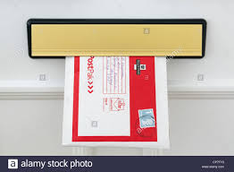 Uk Royal Mail Postpak Envelope With A Large Letter First Class