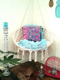macrame hanging chair hammock diy
