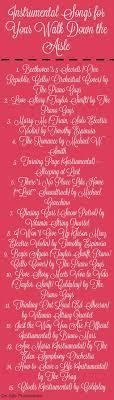 Best 25 Songs For Wedding Ceremony Ideas On Pinterest Wedding