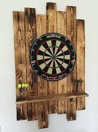 Dartboard Aus Palettenholz Eigenbau Games Outside In 2019