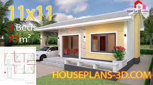 House Design Simple House Design Plans 11x11 With 3 Bedrooms