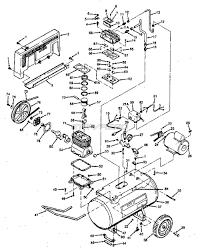 Sears craftsman 919 177541 air pressor parts wiring diagram for craftsman air pressor 3 phase pressor wiring schematic 919 177541 portable oil bath