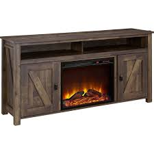elise a console with electric fireplace
