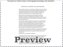 the power of words essays in lexicography lexicology and semantics  the power of words essays in lexicography lexicology and semantics in which the vocabulary of