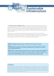 State Of The World Report 2012: Sustainable Infrastructure ...