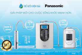 Bảng giá máy lọc nước ion kiềm Panasonic 2021 - Thế Giới Điện Giải