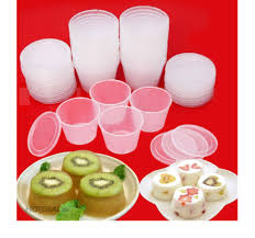 Combo 50 Hũ Làm Bánh Flan công ty Thanh Dung hộp 1A Sữa Chua Rau Câu Dùng  Được Lò Vi Sóng: Mua bán trực tuyến Phụ kiện làm bánh với giá rẻ