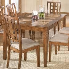 Interior Design For Tucker Tile Top Dining Table Delightful Kitchen In ...