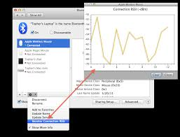 Rssi Chart How To Check Bluetooth Connection Strength In Os X Cnet