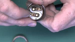 How To Replace A Broken Bayonet Light Fitting Metal Bayonet Lampholder Wiring Testing