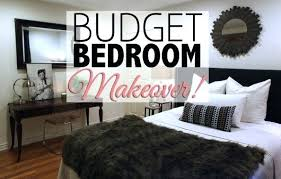 decorating a bedroom on a budget. Bedroom On A Budget Makeover Home Decor Ideas Decorating