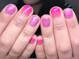 ピンク紫triumph所属harukaのネイルデザインミニモ