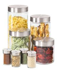 Kitchen Storage Canisters Kitchen Wonderful Glass Kitchen Canister Set Ideas With Cylinder