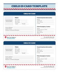 Emergency Contact Forms For Children 6 Printable Emergency Contact Card Template Forms Fillable Samples