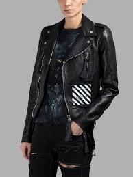 beyonce s nets game virgil abloh off white fall 2016 black leather biker jacket